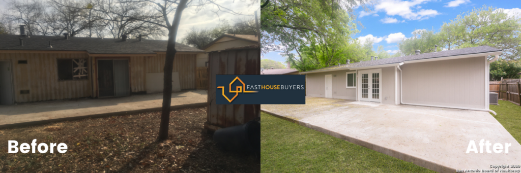 Investors that buy houses bought house for cash and renovated it